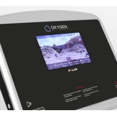 Беговая дорожка Oxygen New Classic Aurum TFT фото 4 от FitnessLook