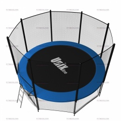 Батут Unix 8FT Outside (Blue)