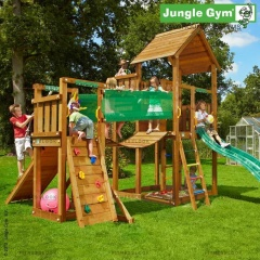 Детский городок Jungle Gym Palace+BridgeModule