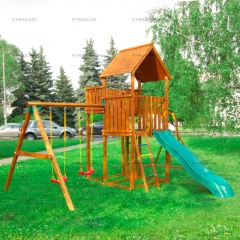 Детский городок Jungle Gym Palace + Swing X'tra