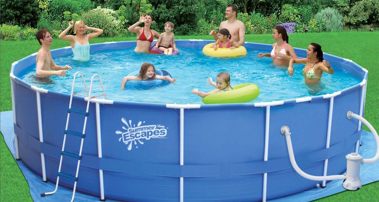 Надувной или каркасный бассейн, что лучше?. Интернет-магазин ...
