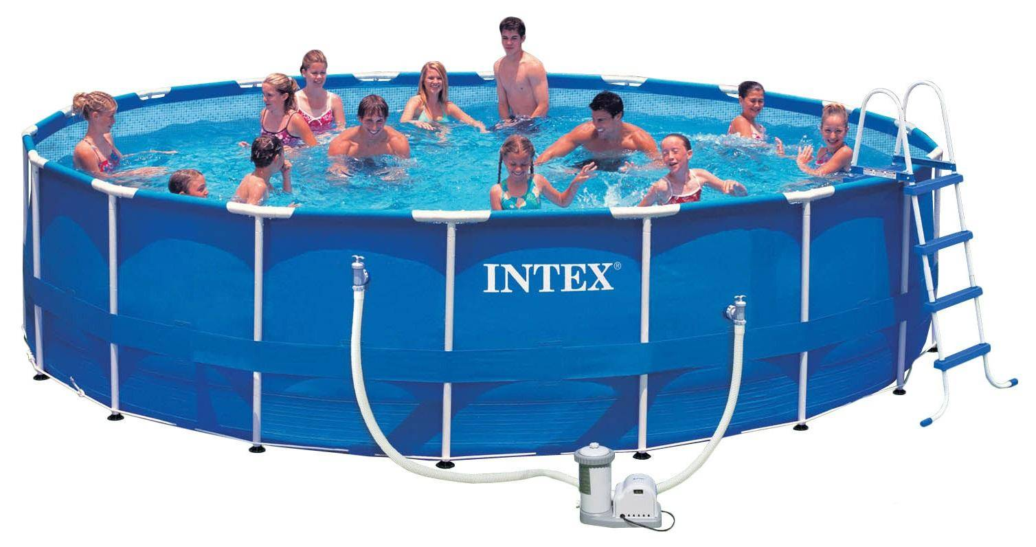 2016 new INTEX 28232 54942 15 metal frame pool sets